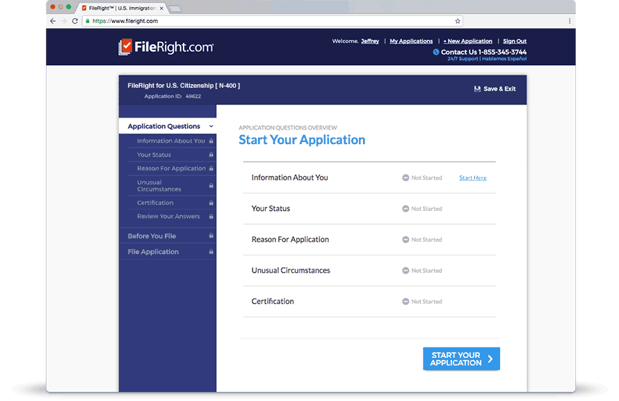 Complete Your Immigration Applications with our Software