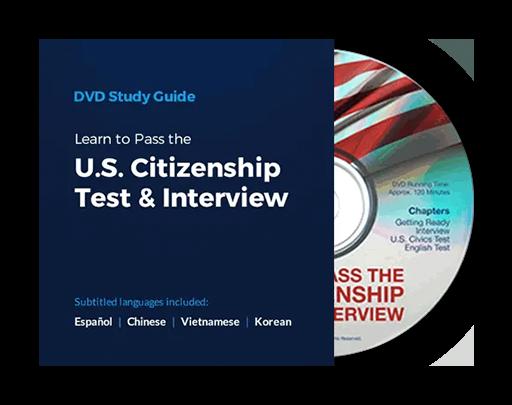 Pass the U.S. Citizenship Test & Interview DVD
